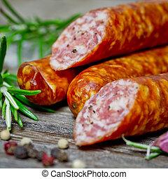 smoked sausages