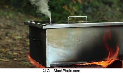smokehouse for smoking smokes - smokehouse for homemade, hot...