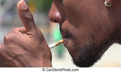 Smoker, Cigarettes, Nicotine, Tobacco