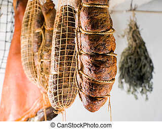 Smoket meat - Domestic smoked meat products produced in the...