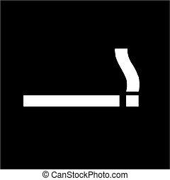 Smoking Area - sign