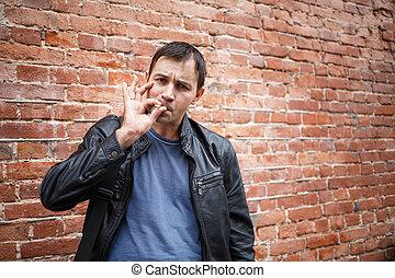 Smoking bad boy