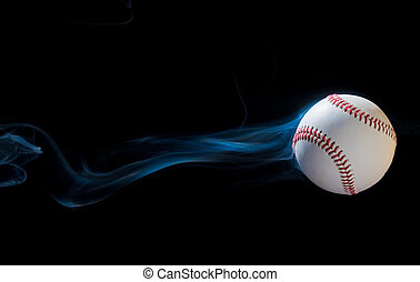 Smoking Baseball