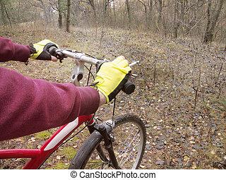 smoking during cycling
