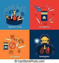 Smoking Flat Set