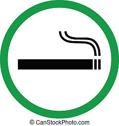 smoking, gebied