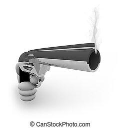 Smoking gun Clip Art and Stock Illustrations. 1,242 ...
