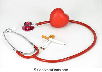 Smoking is bad for your heart