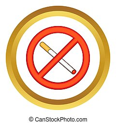 Smoking is prohibited  icon