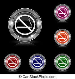 smoking, nee, pictogram