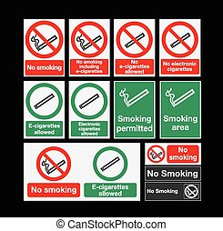 Smoking signs
