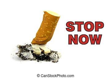 Smoking stop now
