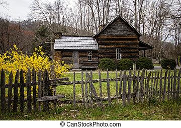 Smoky Mountain Cabin In The Spring