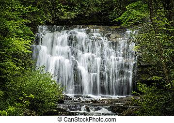 Smoky Mountains National Park Waterfall