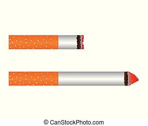Smoldering Cigarette Set