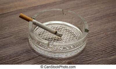 smoldering, zigarette, timelapse