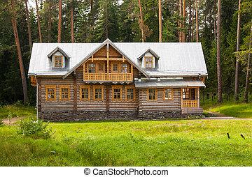 Smolensk monastery on Valaam Island, Russia, Karelia