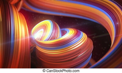 Smooth abstract candy nice moving bussines background -...
