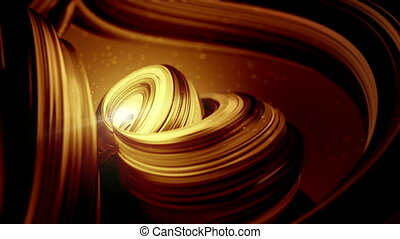 Smooth abstract gold coffee nice moving business background