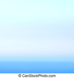 Smooth abstract gradient background bright blue color. Defocuse