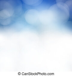 Smooth blue abstract background - Soft blue abstract...