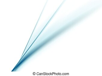 Smooth blue lines on white background. Vector brochure...