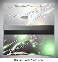 Smooth colorful abstract glowing background. Vector...