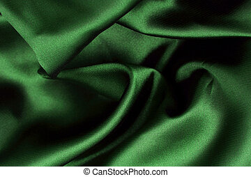 Smooth Elegant and soft green satin background