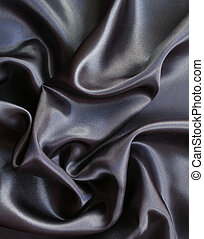 Smooth elegant grey silk as background - Smooth elegant grey...