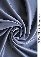 Smooth elegant grey silk