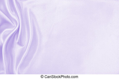 Smooth elegant lilac silk or satin texture as wedding background. Luxurious valentine day background design