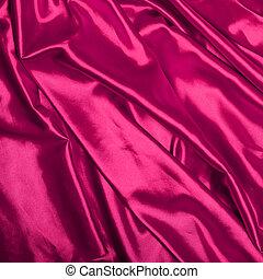 Smooth elegant pink silk background