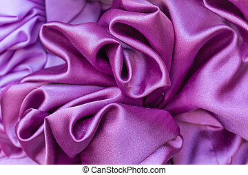 Smooth elegant purple silk can use as background