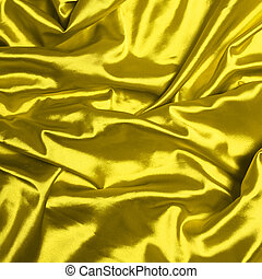 Smooth elegant yellow silk background