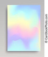 Smooth gradient backdrop
