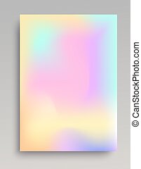 Smooth gradient poster