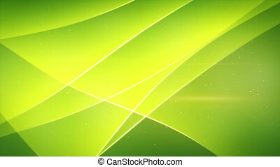 smooth green waving loopable backgr
