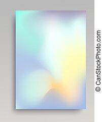 Smooth light gradient vertical background