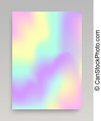 Smooth mixed coloring gradient