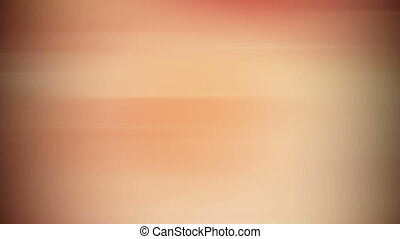 Smooth orange abstract background. Loop.