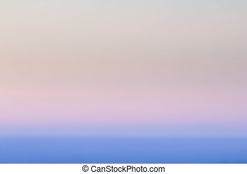 Smooth Pastel Sunset Abstract Gradient Background blue color. B