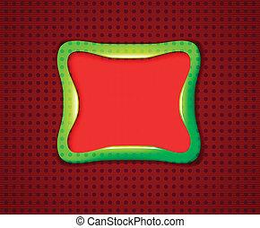 Smooth rectangular frame