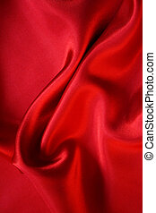 Smooth Red Silk as background