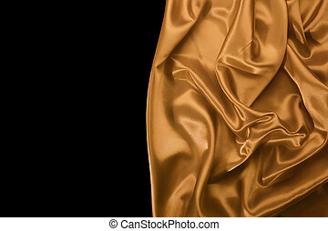 Smooth silky drapery