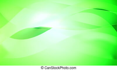 """""""Smooth wavy motion background in green color. """""""