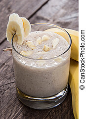 smoothie, banana
