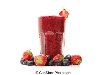 Smoothie - Delicious berry smoothie
