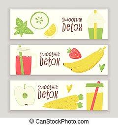 smoothie, detox