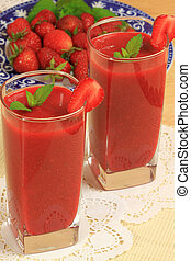 smoothie, fruit