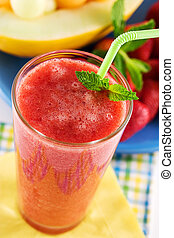 smoothie, fruit